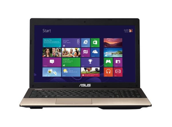 "NB Asus 15,6"" HD LED K55VJ-SX256H - Sötétbarna - Windows® 8"