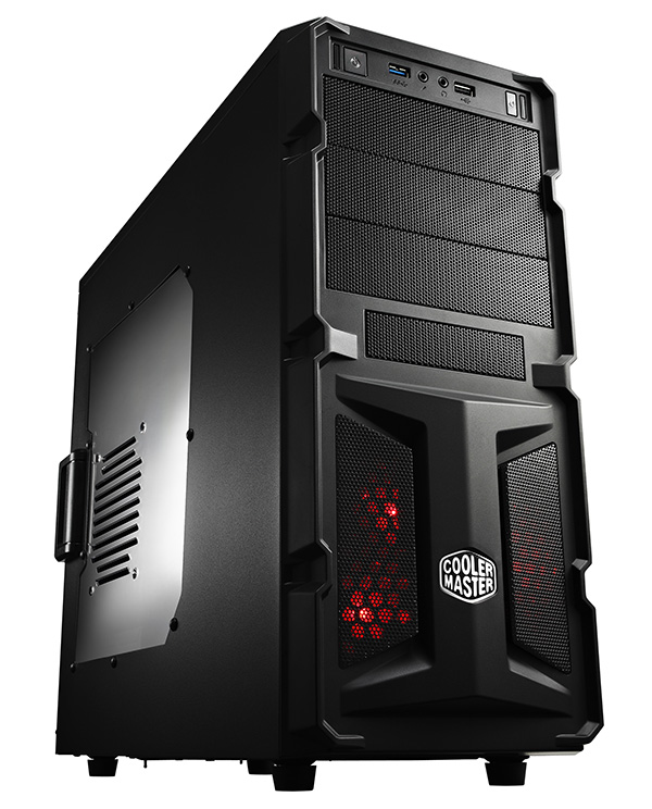 HÁZ Cooler Master Midi - Elite Knight 350 - RC-K350-KWN2-EN