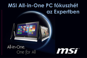 MSI All-in-One PC fókuszhét az Expertben