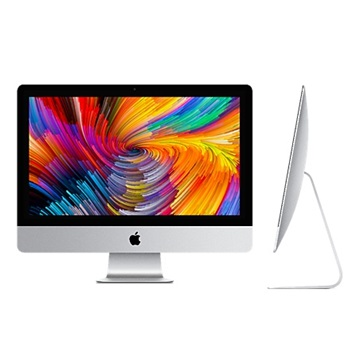 "Apple 21.5 "" Retina 4K Intel® Core™ i5 8 GB 1TB HDD AMD Radeon Pro 555 2GB MacOS High Sierra Fekete / Ezüst"