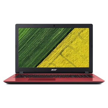 Acer Aspire 3 A315-31-P1T2 - Endless - Fekete / Piros