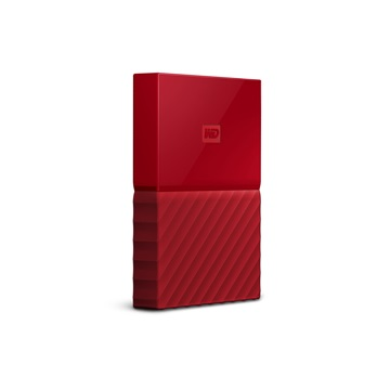 "WD 2,5"" My Passport 2TB (THIN) - Red - WDBS4B0020BRD-WESN"