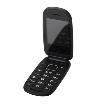 Alcor Handy Black - Flip Phone