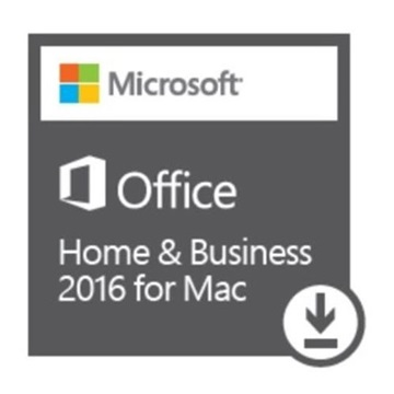 MS Office 2016 Mac Home and Business AllLNG Eurozone  1PK