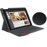 Logitech Type+ iPad Air 2 - UK - Fekete