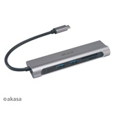 Akasa USB 3.1 Type-C 6-In-1 Dock - AK-CBCA14-18BK