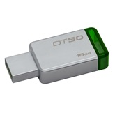 Kingston DataTraveler 50 - 16GB USB3.0 - Ezüst/Zöld (DT50/16GB)
