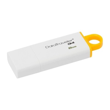 Kingston DataTraveler G4 8GB USB3.0 - Fehér-Sárga (DTIG4/8GB)